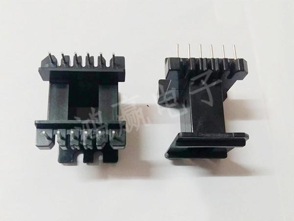EE4220变压器骨架立式6+6