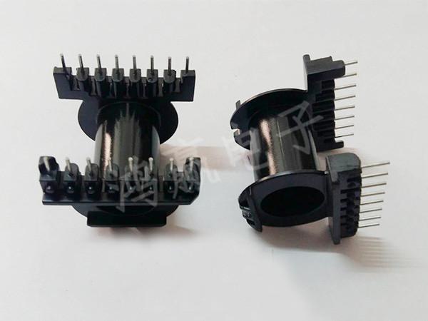 EC4220变压器骨架卧式8+8