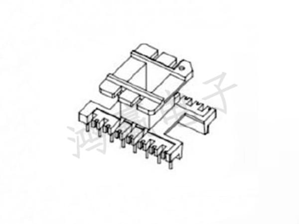 EI33变压器骨架立式8+8