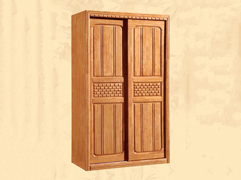 开平实木衣柜哪里有_江泰华洋家具_推拉_家居_订做_红色_中式