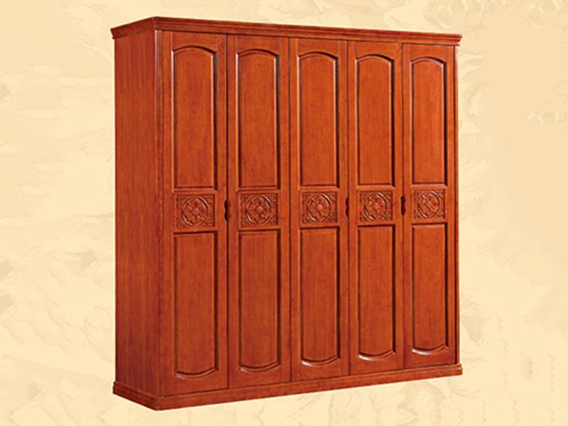 凤岗实木衣柜多少钱一米_江泰华洋家具_多层_全_红_订制_木质