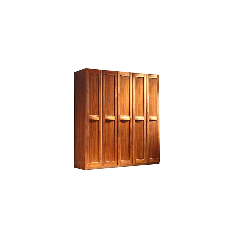 玉林整體實木衣柜便宜實用_江泰華洋家具_簡易組合_仿古_推拉_純