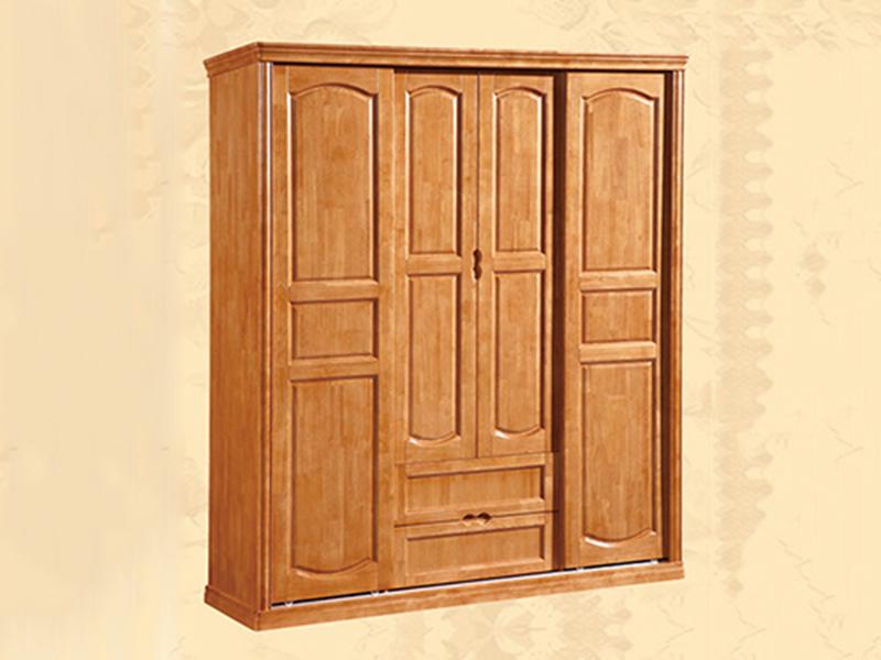 南寧一般實木衣柜廠家供應_江泰華洋家具_多層_純_紅色_訂制