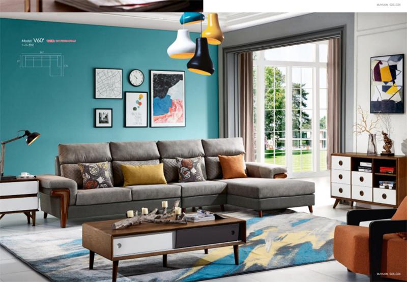 現代_時尚布藝沙發多少錢一米_江泰華洋家具