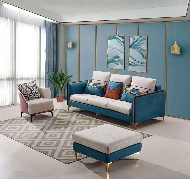 一字型_布面布藝沙發哪家便宜_江泰華洋家具
