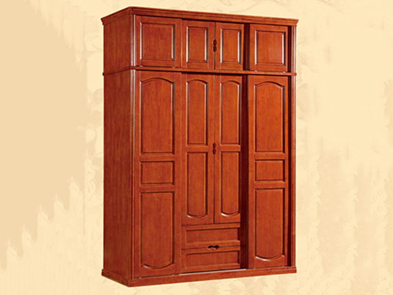 清遠簡易組合實木衣柜_江泰華洋家具_質量符合國家標準_服務熱線