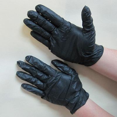 一次性黑色丁腈手套