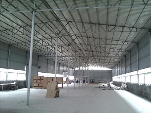 钢结构厂房建设