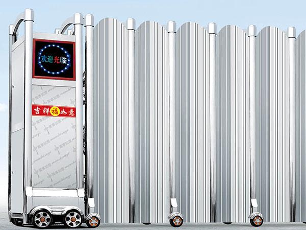 668-A11不锈钢伸缩门