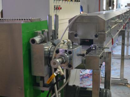 硅橡胶电线押出生产线