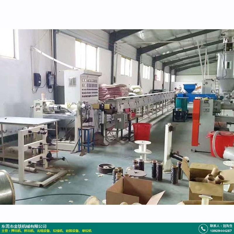 硅膠電源線硅膠設備怎么選_金軼機械_碳纖維_雙層硅膠線_編織線