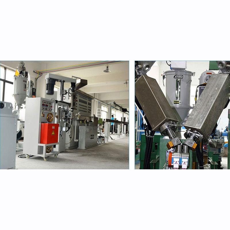 安防线押出机型号_金轶机械_硅橡胶电线_PLA_碳纤维硅纤线