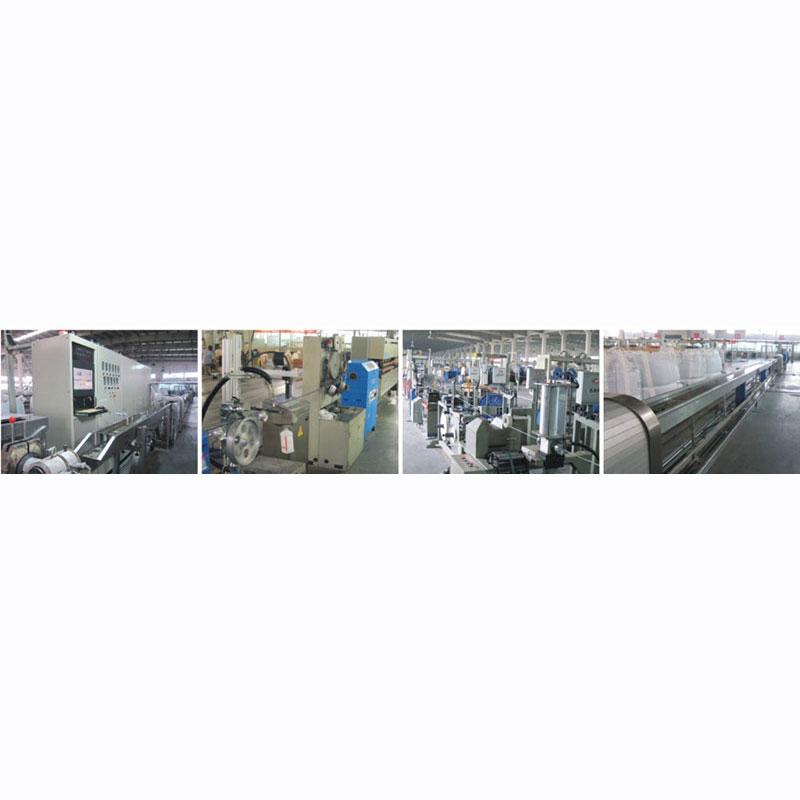 TPU押出机标准_金轶机械_高频线_PBT_硅胶高温线_氟塑料