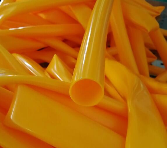 黄色硅胶套管