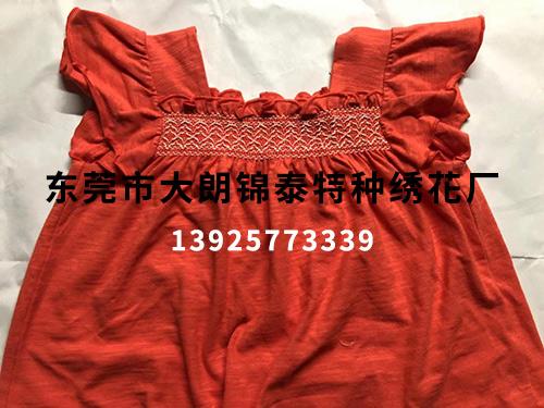 红色连衣裙打缆