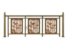 铝艺栏杆设计