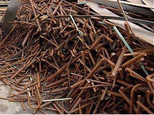 鍵興再生資源_高價螺紋鋼_高價花料鐵屑回收多少錢一噸