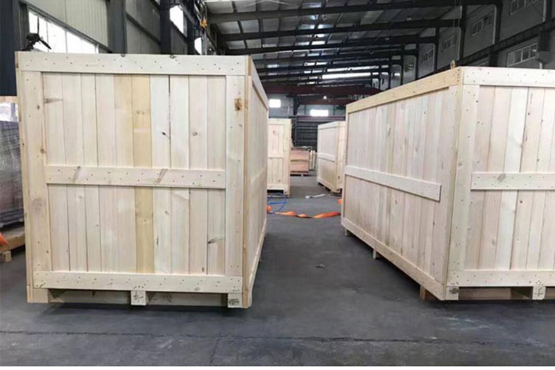 实木出口木箱厂家直销_俊哲木制品_钢带卡扣_可拆卸_机床_胶合板