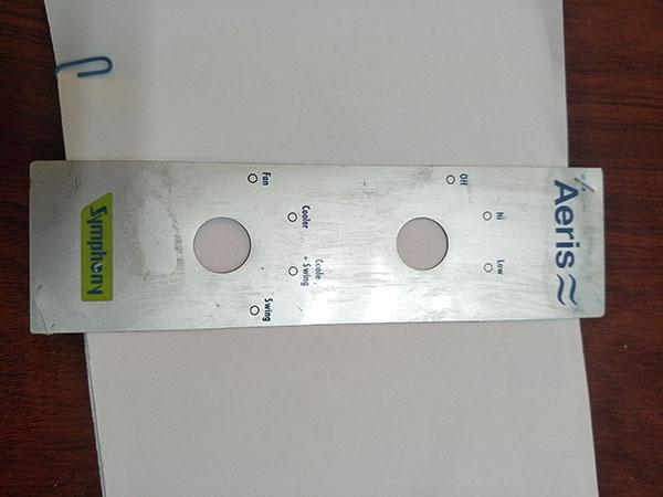 厂家生产 警告标识标牌 薄膜PVC,PET,PC标牌
