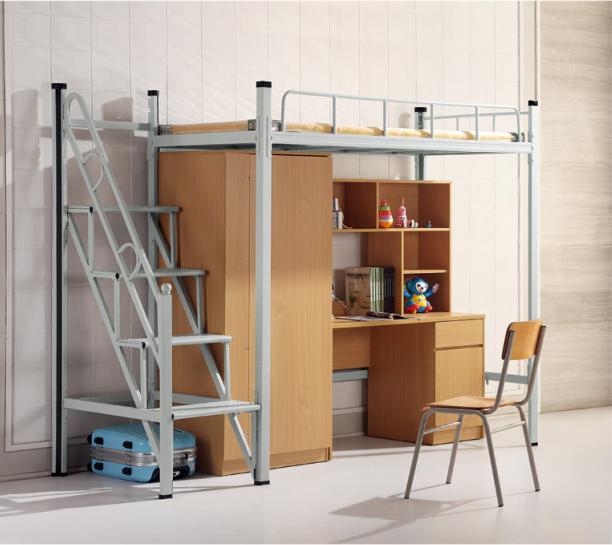 鳳崗鐵床廠 品優家具 公寓 單層 工廠宿舍 雙層 白色 學生