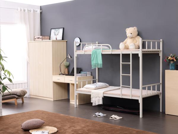 鳳崗工廠鐵床直銷 品優家具 家用 上下 員工 雙層 家具 單人