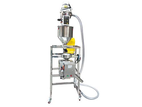 KSD-50A自動上料和震動喂料金屬分離器組合