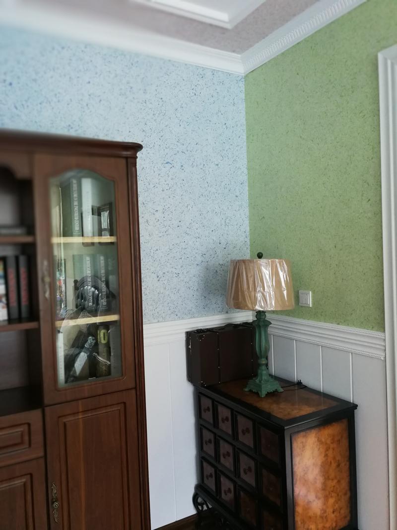 防潮_植物无缝墙布使用方法_快涂新材料
