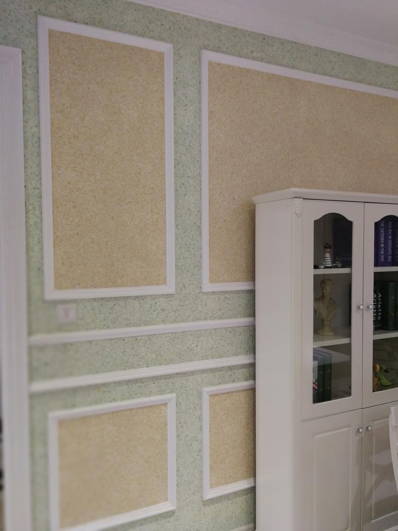 植物壁砂使用方式_快涂新材料_彩色_卡通_時尚_KTV_不起鼓