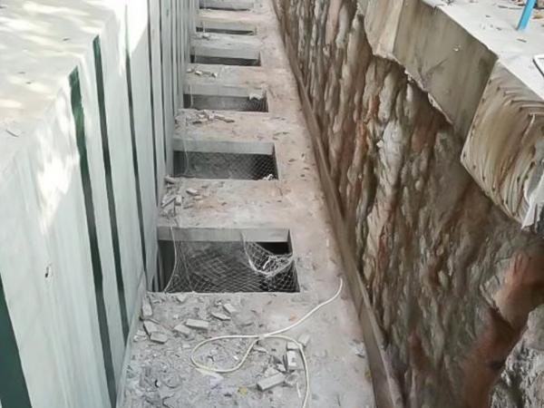 支護樁基坑回填