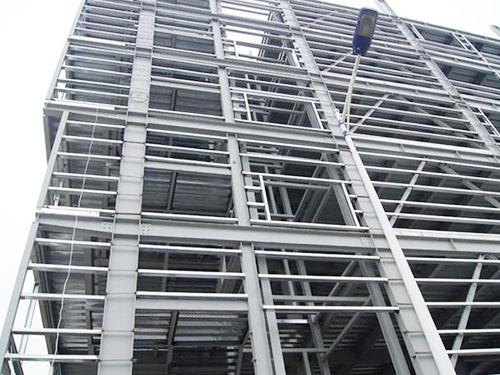 多层钢构工程承包
