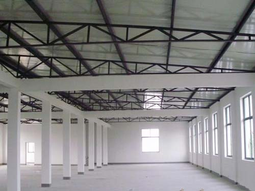 厂房钢框架 东莞市联润钢结构工程有限公司