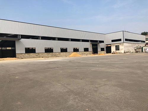 钢结构厂房建造施工
