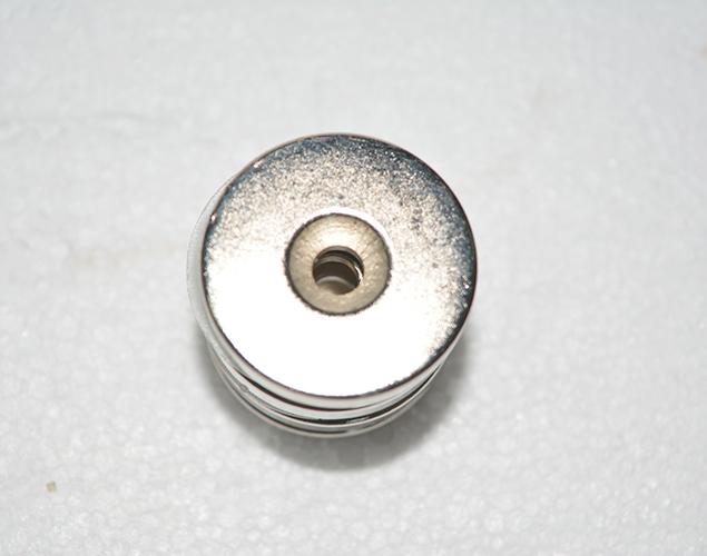 钕铁硼镀镍直孔