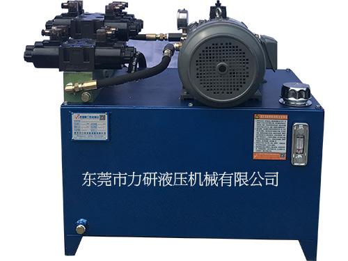 鸡西耐压成套液压系统泵站用什么配件_稳定性强_力研液压