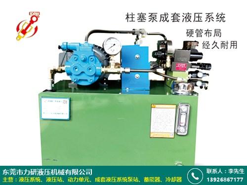四會小型液壓系統 力研液壓 價格有吸引力 效益好
