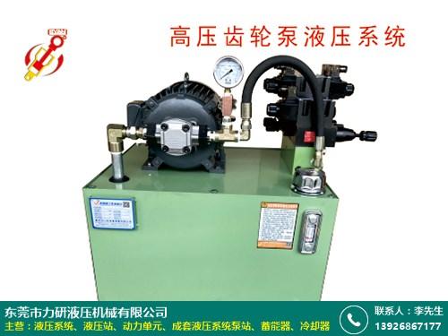 杭州铣床液压系统 力研液压 机器 发泡机 电动 定制 专业 订制
