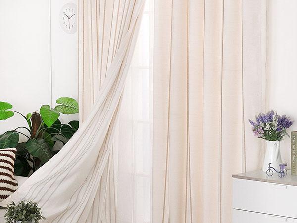 桥头酒店布帘定制 印花 办公楼 纯色 宿舍 满满窗饰