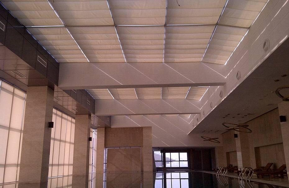 湛江體育館天棚簾 滿滿窗飾 定制 哪家便宜