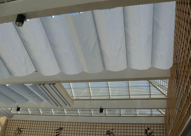 湛江歐式天棚簾安裝效果 滿滿窗飾