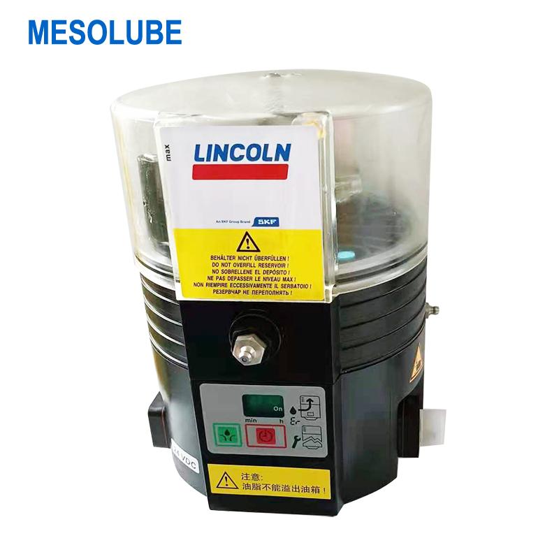 P500原裝林肯多點電動油脂泵