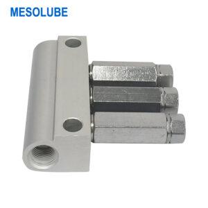 單線lube加壓式注塑機分配器3位