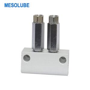 單線潤滑系統lube分配器加壓式2位
