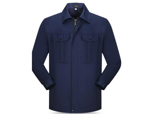 耐脏工作服订做 品一制衣厂 梭织 棉 氨纶 拉链 CVC 防静电
