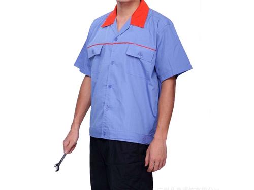 耐脏工作服订做 品一制衣厂 涤纶 立领 环保 TR 珠帆 CVC