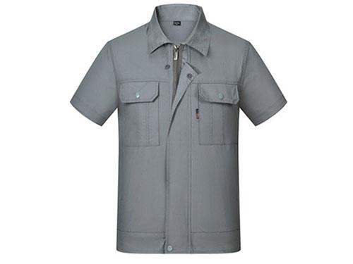 汕頭拉鏈工作服 品一制衣廠 防靜電 防風 保暖 紐扣 平紋 梭織