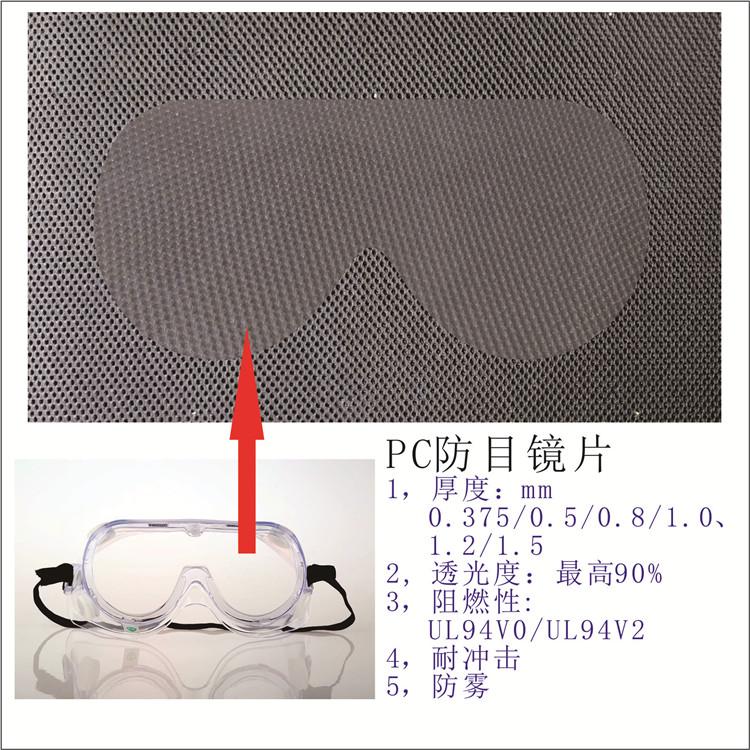 PC防雾镜片