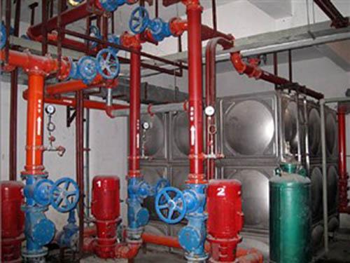 消防水箱水泵安装