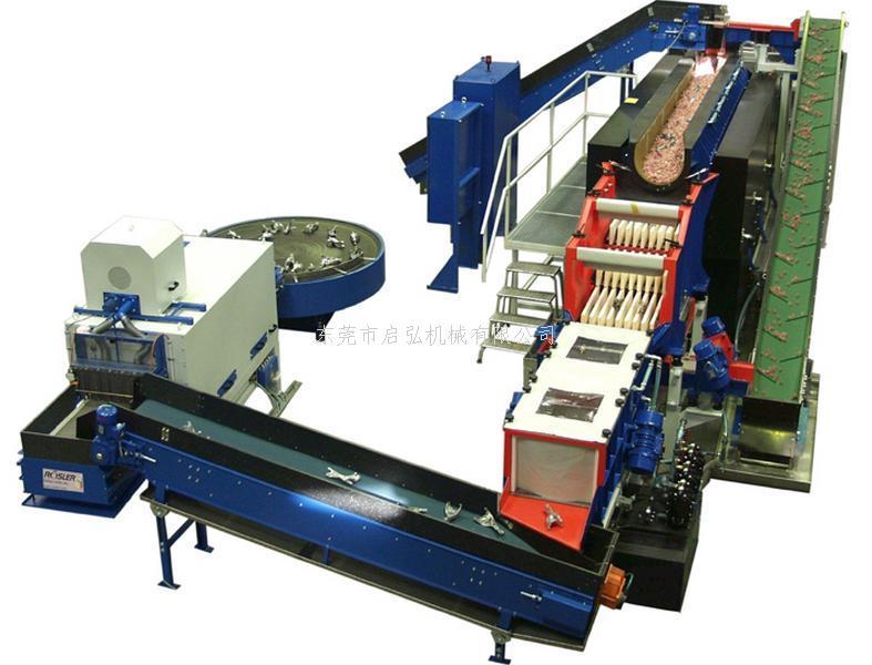 旋轉連續通過式光飾機(全自動研磨機-研磨-清洗-烘干一體機