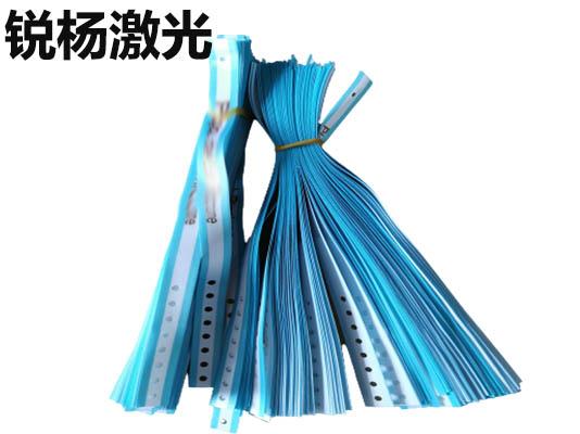 織帶激光打孔 激光切割燕尾魚尾織帶布