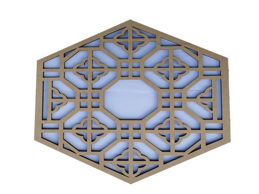 木質激光切割激光雕刻打標擺件定制廠家